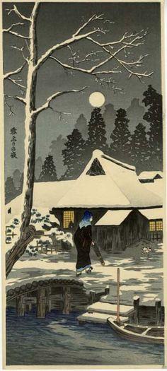 "Described as ""Similar to Shotei"", c. 1930 http://www.japanprints.com/Print.asp?PrintID=11008"