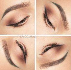 Everyday Winged Liner Makeup Look