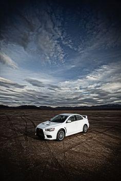 2010 - Mitsubishi Lancer Evolution... yes please!