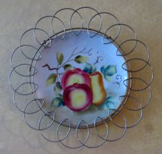 Vintage Hand Painted Fruit 7 Porcelain by weMixandMatchVintage, $10.00