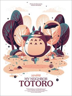 "👉🏽👉🏽A Studio Ghibli ""My Neighbor Totoro"" fan?Do you like these Totoro Crafts Ideas? us for more Totoro Cute? Studio Ghibli Poster, Studio Ghibli Films, Studio Ghibli Art, Hayao Miyazaki, Anime Totoro, Poster Anime, Totoro Poster, Spoke Art, My Neighbor Totoro"