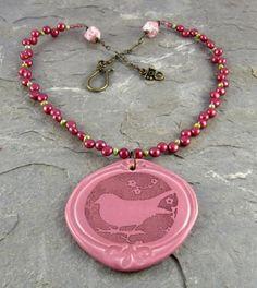 Linda Landig Jewelry - Sold,  Pendant by Yolanda's Clay