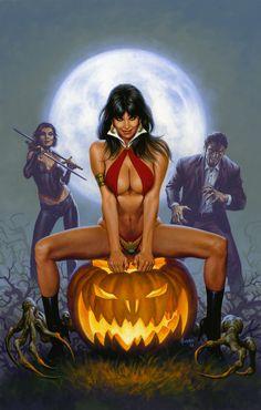 Vampirella Halloween Special 2013 by JoeJusko.deviantart.com on @deviantART