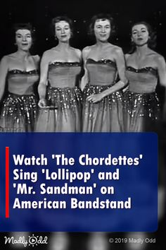 Watch 'The Chordettes' Sing 'Lollipop' and 