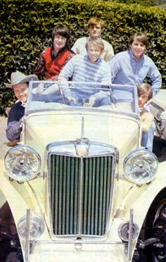 classic cars owned by the beach boys
