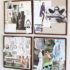 """Creative Outlets   """"Inspiring D.I.Y: At Home Mood Board""""   Front Roe by Louise Roe"""