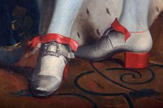 High heels; from men as soldiers on horseback in Persia to men's very masculine fashion France to the rest of the world