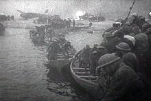 The Dunkirk evacuation, commonly known as the Miracle of Dunkirk, code-named Operation Dynamo by the British, was the evacuation of Allied soldiers from the beaches and harbour of Dunkirk, France, between 27 May and the early hours of 4 June 1940, because the British, French, and Belgian troops were cut off by the German army during the Battle of Dunkirk in the Second World War.[1][2] The evacuation was ordered on 26 May.[3] In a speech to the House of Commons, Winston Churchill called the…