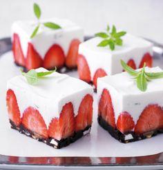 Erdbeer-Frischkäse-Torte - Kuchen, Torten und kleines Gebäck mit Frischkäse - 1 - [ESSEN & TRINKEN]