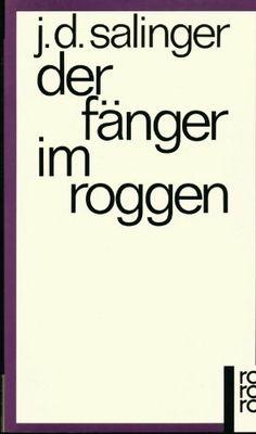 Der Fänger im Roggen: Roman von Jerome D. Salinger http://www.amazon.de/dp/B002DUSVPG/ref=cm_sw_r_pi_dp_EDLiwb10EP5ZR