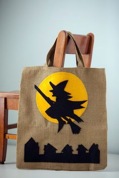 Witch treat or treat bag