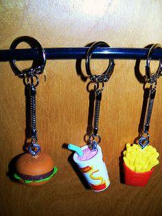 food keychain - Αναζήτηση Google
