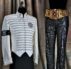 Michael Jackson's Outfits Featured In 'The King Of Style' By Michael Bush (PHOTOS)  The outfit Michael Jackson was buried in