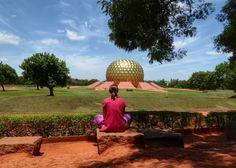 India Auroville, Tamil Nadu Auroville India, Travel Photography