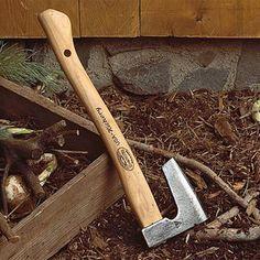 Garden Hand Axe, Dutch Garden Hatchet, Bearded Axe