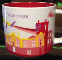 "Toulouse - ""You Are Here"" Starbucks Mug"
