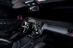 Toyota MR2 interior