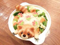 fuckyeahcutefood: I love cute food Food Design, Kawaii Cooking, Japanese Food Art, Japanese Culture, Food Porn, Good Food, Yummy Food, Bento Recipes, Cute Desserts