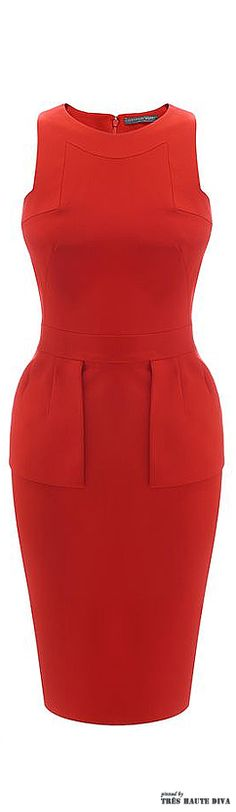 Alexander McQueen Geometric Halter Pencil Dress