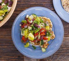 Greek-Style Chicken Paillard