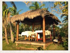 Lomani Island Resort, Fiji. Time for a massage in the garden bure! EW 10/13 #emmawhitingtravel