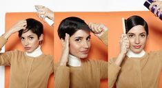 typisch 60er die kurzen Haare stylen
