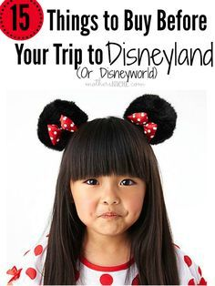 So many things I hadn't thought of and we are leaving for Disneyland next week. I like the idea of bringing a Disney storybook for characters to sign in! .