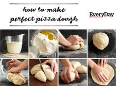 How to Make the Perfect Pizza Dough! #cookingtips