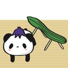 お盆 LINEスタンプで大人気!毎日更新「今日のお買いものパンダ」を見逃すな!今まで明かされなかったお買いものパンダの生態も少しだけ公開!