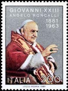 Italia 1981 - Papa Juan XXIII