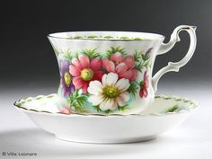 Royal Albert Flower Of The Month October cosmos cup and saucer