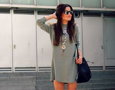 Perfect comfortable dress #outfit #dress #summer