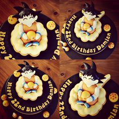 Goku Dragonball Z Cake