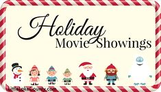 Holiday movies are made even more magical when you can watch them on the big screen. Holiday Moving showings in Lake County