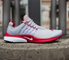 best service 0fb50 ac80c Nike Air Presto - Neutral Grey   University Red - White