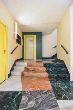 There's a new book out on a favorite subject of ours — the Entryways of Milan, including this gem by Gio Ponti, Antonio Fornaroli, and Alberto Rosselli 📷 Italian Interior Design, Interior Design Minimalist, Home Interior, Interior Architecture, Interior Doors, Interior Designing, Interior Modern, Scandinavian Interior, Gio Ponti