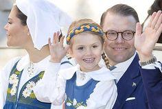 Swedish royal family attend 2017 National Day celebration at Skansen