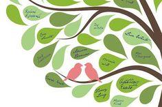 Family Tree craft Template Ideas