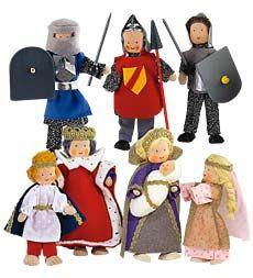 Kathe Kruse® Royal Court Characters. Fun!