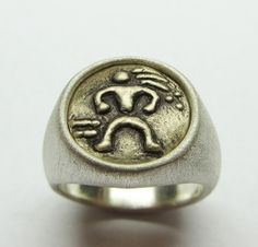 LifeLinks rings are worn to reflect one's personal mission or to honor someone who has had a significant impact in one's life. Please indicate ring finish and finger size when ordering. Larger sizes are available as well as custom designs in gold and platinum. Personal logos or monograms are also available. Contact Link Wachler with any questions, Thank you for visiting LifeLinks Jewelry.