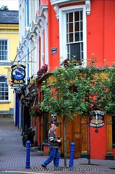 ~Cork, Ireland lusitania bar cobh called after the shipwreck this also the last port of call for the titanic the cobh of cork once called queenstown co cork