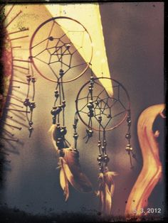 everyone gets or makes a dream catcher...
