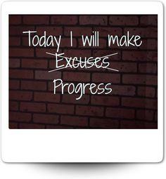 Today I will make excuses progress Mora on Fitness http://philippemora.tumblr.com (c) Sept 2013