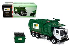 First Gear 1/34 Waste Management Mack Front End Loader Green | Blog - Diecast Hobby USA - Diecast Cars & Accessories