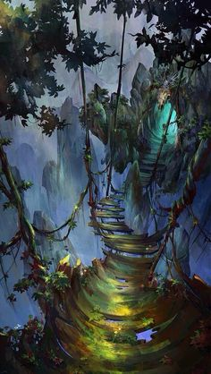 2020 - Curiously concentrated and focused concept art - drawings - . - Curiously concentrated and focused concept art – drawings – - Environment Concept, Environment Design, Fantasy Places, Fantasy World, Fantasy Forest, Fantasy House, Forest Art, Forest Drawing, Forest Scenery