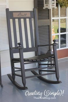Make your rocking chairs really unique with these two (simple) ideas!...
