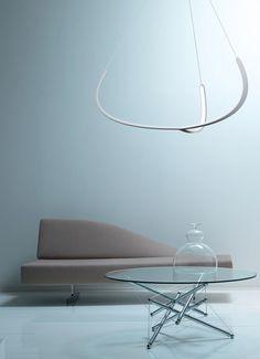 Lighting Design // Alya - suspended led lamp by Nemo