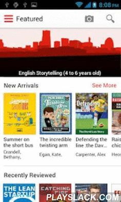 SG Libraries  Android App - playslack.com , Access the Singapore NLB (National Library Board) Public Libraries on the go! SG Libraries makes it easy for you to find and reserve library items, discover new titles, review books, create favourite lists, look up library branch information and more from your Android device! Discover • Stay in sync with upcoming library events • Discover the latest and greatest new arrivals • Browse through the top 100 newest or most popular titles in your…