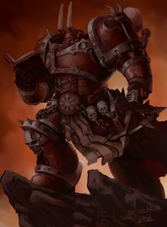 While the vast majority of Chaos Space Marines are known for their unyielding bitterness towards the Imperium of Man, there are few who could match the depths of hatred of the Word Bearers. Armed with zealous faith in Chaos in all its myriad forms, the Word Bearers waged an unholy war against Man even before the Horus Heresy erupted.