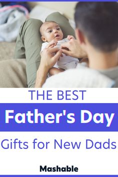 """The first Father's Day is an important one so make sure that special new dad in your life gets exactly what he wants! These fun gift ideas for Father's Day are perfect for the newly appointed dad! Stepping into the role of """"dad"""" whether you're welcoming a child with your partner or are becoming a single parent. These father's day gift ideas can be from the kids, wife or anyone! From cozy pillows and robes, to high tech coffee makers, mobile printers and MORE, you'll the best gifts @mashable! First Fathers Day Gifts, Gifts For New Dads, Baby Steps, Single Parenting, Good Good Father, Printers, New Moms, Children, Kids"""